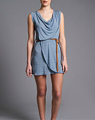 Wal G Drape Speckle Dress