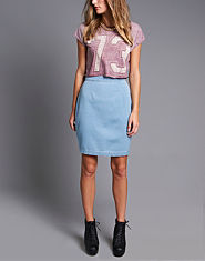 Glamorous Denim Pencil Skirt