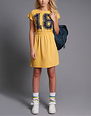 BLONDE & BLONDE Sleeveless Number T-Shirt Dress