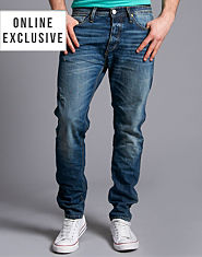 Jack & Jones Erik Original Tapered Jeans