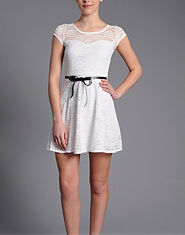Wal G Lace Skater Dress