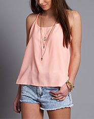 Ribbon Neon Swing Cami Vest