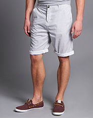 Outcast Cannes Stripe Shorts