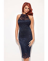 Amy Childs Lola Lace Halterneck Dress