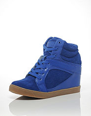 Pastry Strudel Wedge Hi Tops