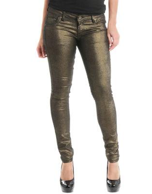 BLONDE & BLONDE Foil Print Jeans