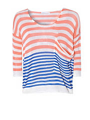 ONLY Boxy Stripe Jumper